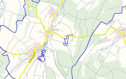 Geltungsbereiche der Flächennutzungspläne in Nordhessen